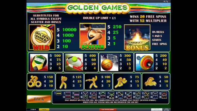 Golden Games 6