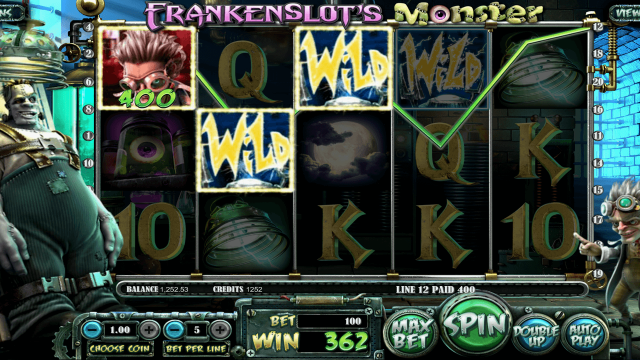 Frankenslot's Monster 6